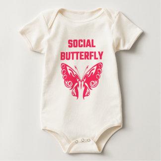Social Butterfly Baby Bodysuit