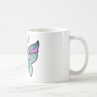 social butterfly basic white mug