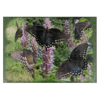 Social Butterfly ~ Cutting Board