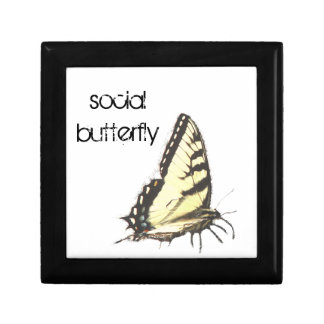 Social Butterfly Jewelry Boxes