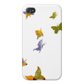 Social Butterfly Covers For iPhone 4