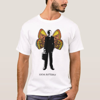 Social Butterfly Man T-Shirt