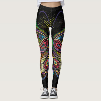 Social Butterfly Pop Leggings