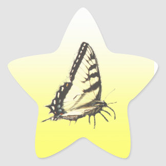 Social Butterfly Star Sticker