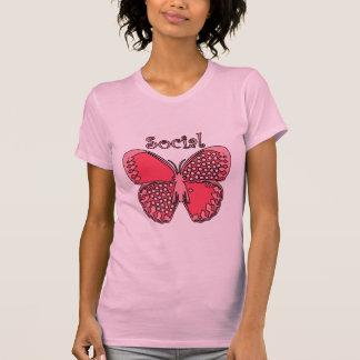 Social Butterfly Tank Tops