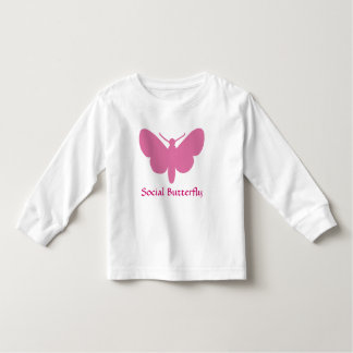 social butterfly tshirt