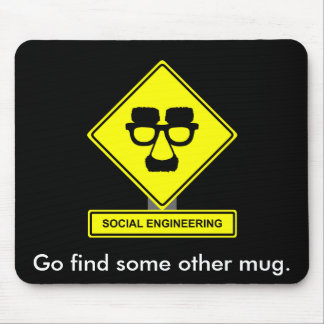 Social Engineering Mousepad