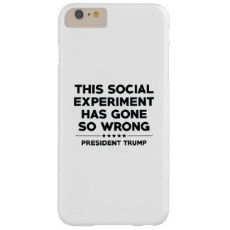 Social Experiment Barely There iPhone 6 Plus Case