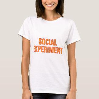 Social Experiment T-Shirt