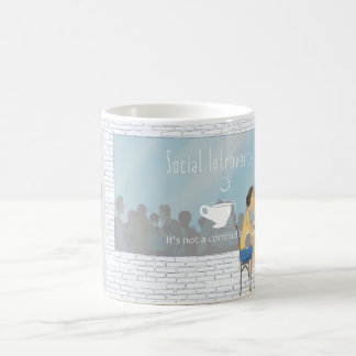 Social Introverts Coffee Mug