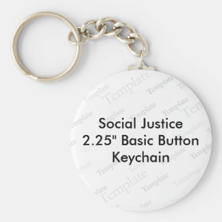 Social Justice 2 25 Basic Button Keychain