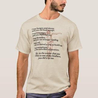 Social Justice Crucifix T-Shirt