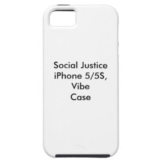 Social Justice iPhone 5/5S,  Vibe Case iPhone 5 Cover