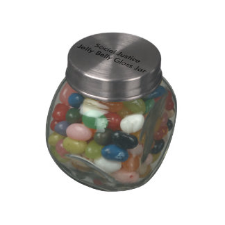 Social Justice  Jelly Belly Glass Jar