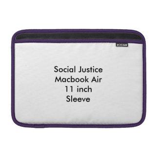 Social Justice Macbook Air 11 inch Sleeve MacBook Sleeves