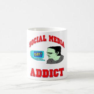 Social Media Addict Mug