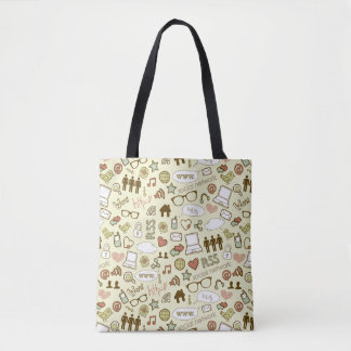 Social Media Addict Tote Bag