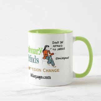 Social Media Coffee Revolutionary Minds - Green Mug