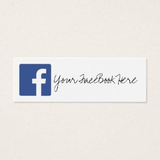 social media color modern trendy business card