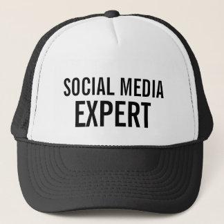 SOCIAL MEDIA EXPERT TRUCKER HAT