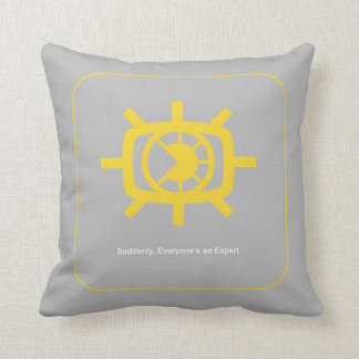 Social Media graphic Throw Pillow