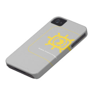 Social Media graphic iPhone 4 Case