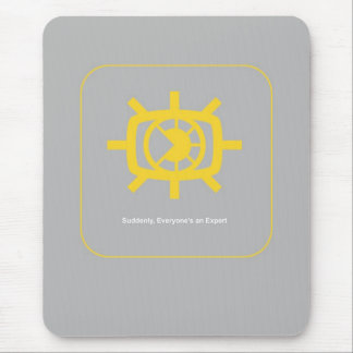 Social Media graphic Mouse Pad