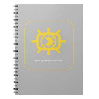 Social Media graphic Spiral Notebook