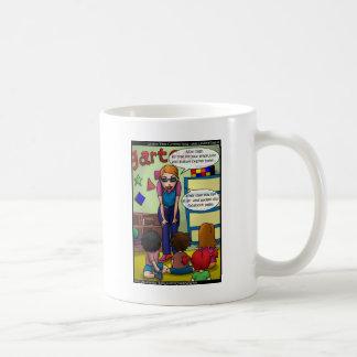 Social Media In Kindergarten Funny Gifts & Tees Basic White Mug