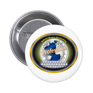Social Media Marketing Products Pinback Buttons
