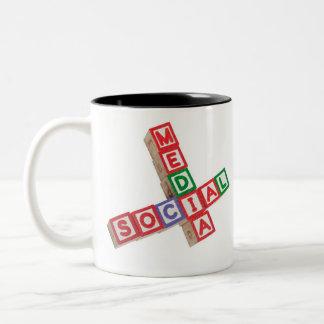 Social media coffee mugs