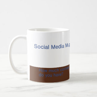 Social Media Mug - How much content do you have?