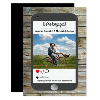 Social Media Photo Mobile Engagement Announcement