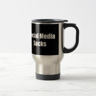 Social Media Sucks Travel Mug