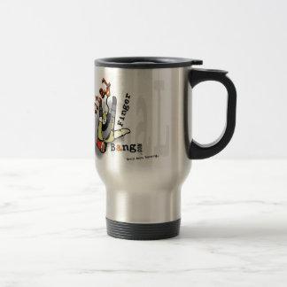 Social media Terrorist Artist Design Travel Cup Mugs