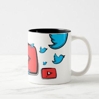 Social Media Two-Tone Mug