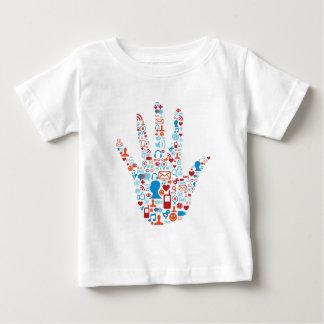 Social Network Hand Tee Shirt