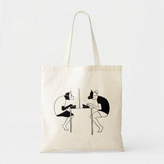 Social networks tote bag