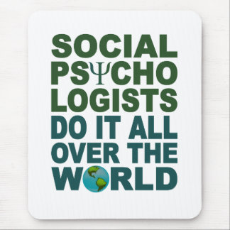 Social Psychologists mousepad