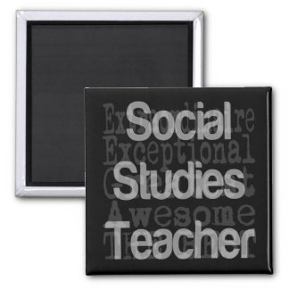 Social Studies Teacher Extraordinaire Magnet