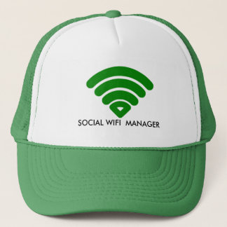 SOCIAL WIFI MANAGER  Custom Hats, Trucker Hats
