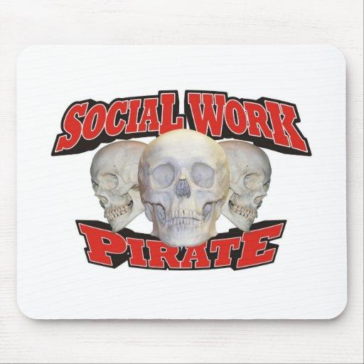 Social Work Pirate Mousepads
