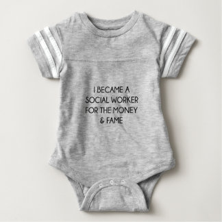 Social Worker Baby Bodysuit