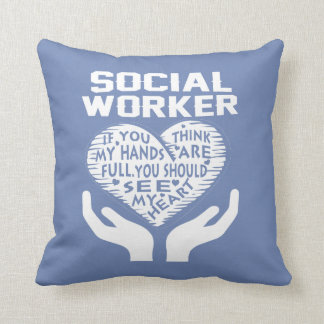 Social Worker Cushion