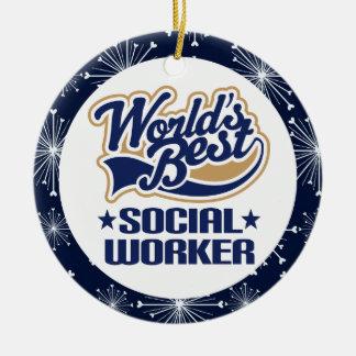 Social Worker Gift Ornament