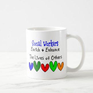 Social Worker Gifts Basic White Mug