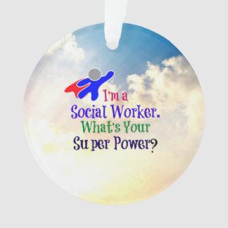 Social Worker Humor Ornament