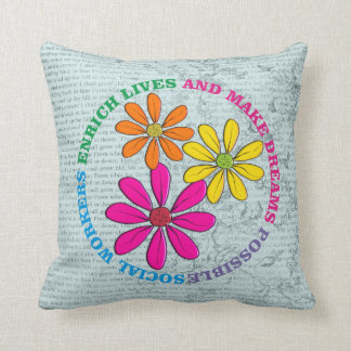 Social Worker Pillow