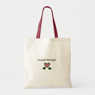 Social Worker Red GH Tote Bag