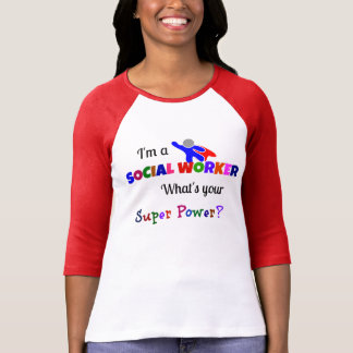 Social Worker Superhero T-Shirt